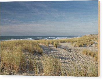 Atlantic Coast And Cap Ferret Wood Print by I hope you'll like it