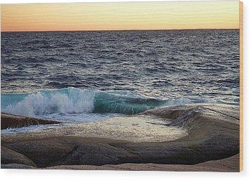 Atlantic Ocean, Nova Scotia Wood Print