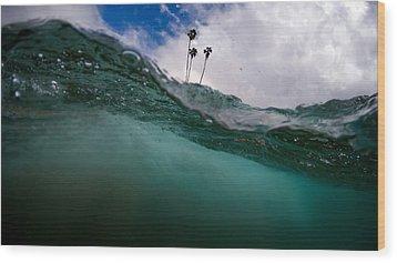 Atmospheric Pressure Wood Print by Sean Foster