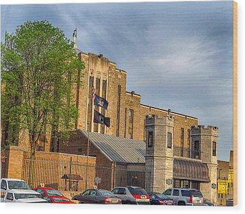 Auburn Correctional Facility Wood Print