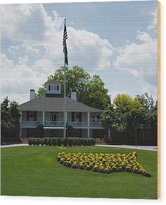 Augusta National  Wood Print