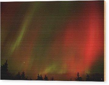 Aurora  Wood Print by Ellery Russell