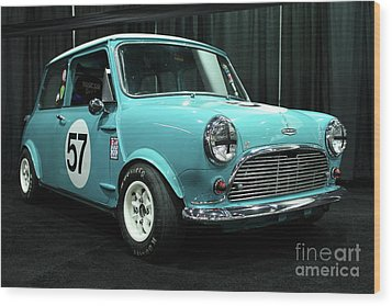 Austin Cooper Wood Print by Wingsdomain Art and Photography