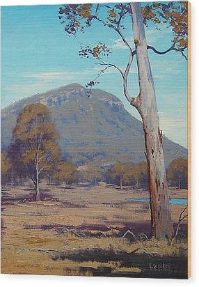 Australian Summer Hartley Wood Print by Graham Gercken