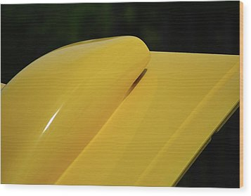Wood Print featuring the photograph Auto Artsy by John Schneider