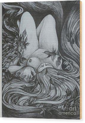 Autumn 2 Wood Print by Anna  Duyunova