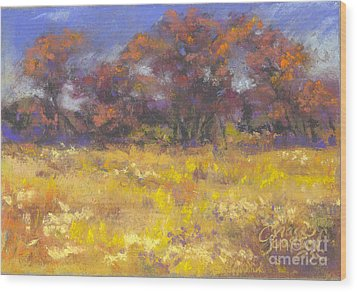 Autumn Afternoon Wood Print by Grace Goodson