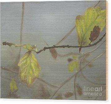 Autumn Wood Print by Annemeet Hasidi- van der Leij
