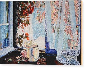 Autumn Aromas Wood Print by Hanne Lore Koehler