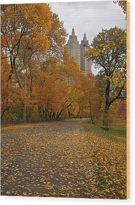 Autumn At The El Dorado Wood Print