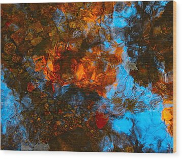 Autumn B 2015 35 Wood Print by George Ramos