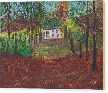 Autumn Dreams Wood Print by James Bryron Love