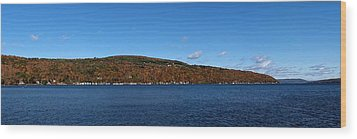 Autumn In The Finger Lakes Wood Print by Joshua House