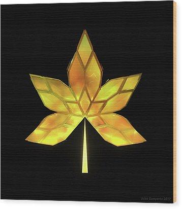 Autumn Leaves - Frame 070 Wood Print