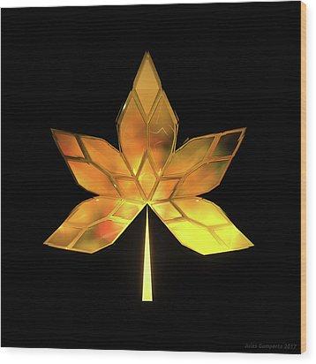 Autumn Leaves - Frame 200 Wood Print