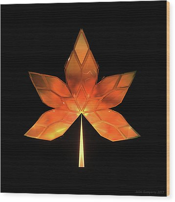 Autumn Leaves - Frame 260 Wood Print
