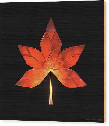 Autumn Leaves - Frame 320 Wood Print