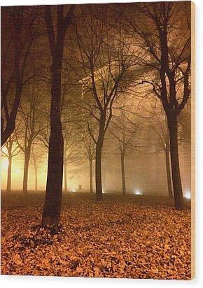 Autumn Wood Print by Niki Mastromonaco