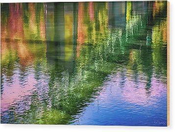 Autumn Span  Wood Print
