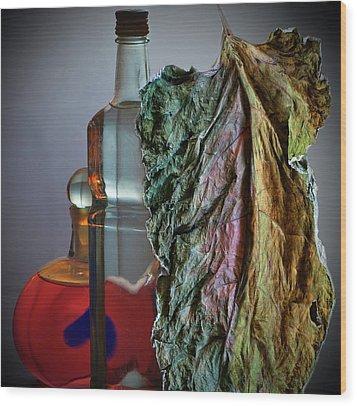 Wood Print featuring the photograph Autumn Still Life by Vladimir Kholostykh