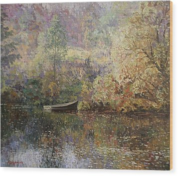 Autumn Tenderness Wood Print by Andrey Soldatenko