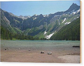 Avalanche Lake Wood Print