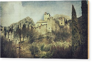 Avio Castle Wood Print