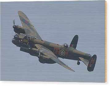 Wood Print featuring the photograph Avro Lancaster B1 Pa474  by Tim Beach