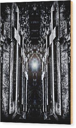 Awaits The Light Wood Print by Scott  Wyatt