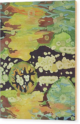 Awakening Wood Print by Lynda Hoffman-Snodgrass
