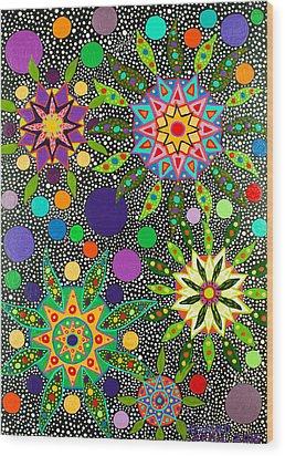 Ayahuasca Vision May 2015 Wood Print