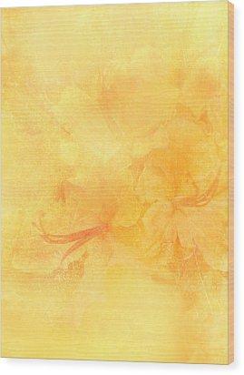 Azalea Impressions Wood Print
