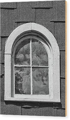 Wood Print featuring the photograph Babcock Window 2273 by Guy Whiteley