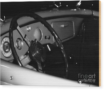 Wood Print featuring the photograph Baby You Can Drive My Car I by RC deWinter