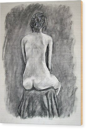 Back Beauty Wood Print by Jean Haynes