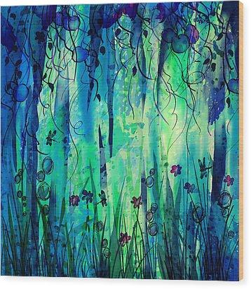 Backyard Dreamer Wood Print by Rachel Christine Nowicki