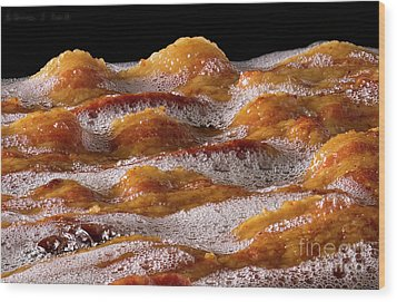 Bacon Wood Print by Warren Sarle