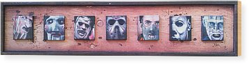 Bad Guys Wood Print by Jeremy Hamilton