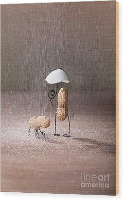 Bad Weather 02 Wood Print by Nailia Schwarz