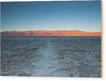 Wood Print featuring the photograph Badwater  by Catherine Lau