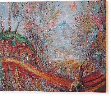 Bag End  Wood Print by Joe  Gilronan
