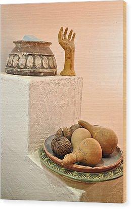 Bahraini Arts Wood Print