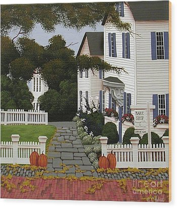 Bake Shop  Wood Print by Catherine Holman