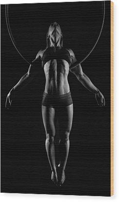 Balance Of Power - Symmetry Wood Print