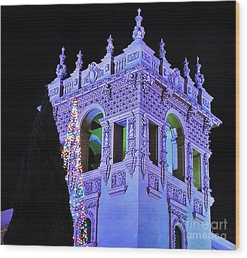 Balboa Park December Nights Celebration Details Wood Print by Jasna Gopic