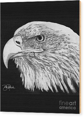 Bald Eagle #4 Wood Print by Bill Richards