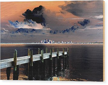Ballast Point Wood Print by David Lee Thompson