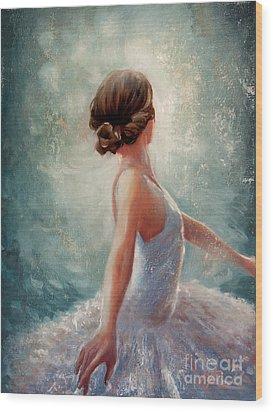 Ballerina Dazzle Wood Print