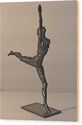 Ballerina Wood Print by Gary Kaemmer
