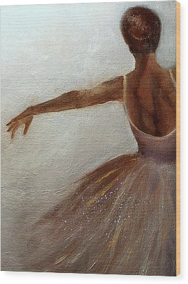 Ballerina  Wood Print by Michele Carter